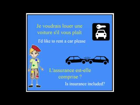 Learn French - Louer une voiture - Renting a Car
