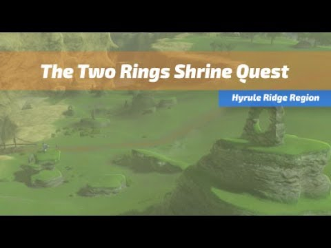 The Two Rings Breath Of The Wild