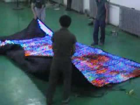 Stage Lighting Equipment Soft Led Display Flexible Led