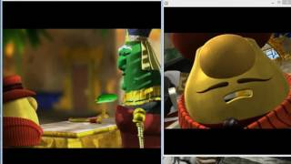 Veggietales Esther: The Girl Who Became Queen original vs Happy Together version