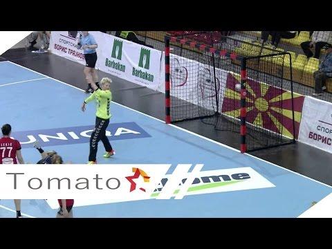 EHF Women's Champions League VARDAR SAVEHOF 16 03 2014