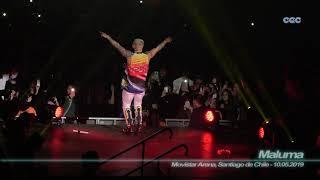 Maluma - Bella ( 4K - Movistar Arena, Santiago de Chile - 10.05.2019 )