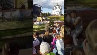 Александр Воронище Хава Нагила Балалайка артист шоу сцена танцы