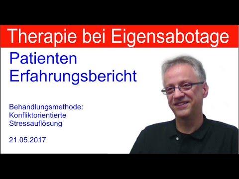 Eigensabotage Programme - Patienten Erfahrungsbericht - Therapie Erfahrungen mit Michael Prgomet