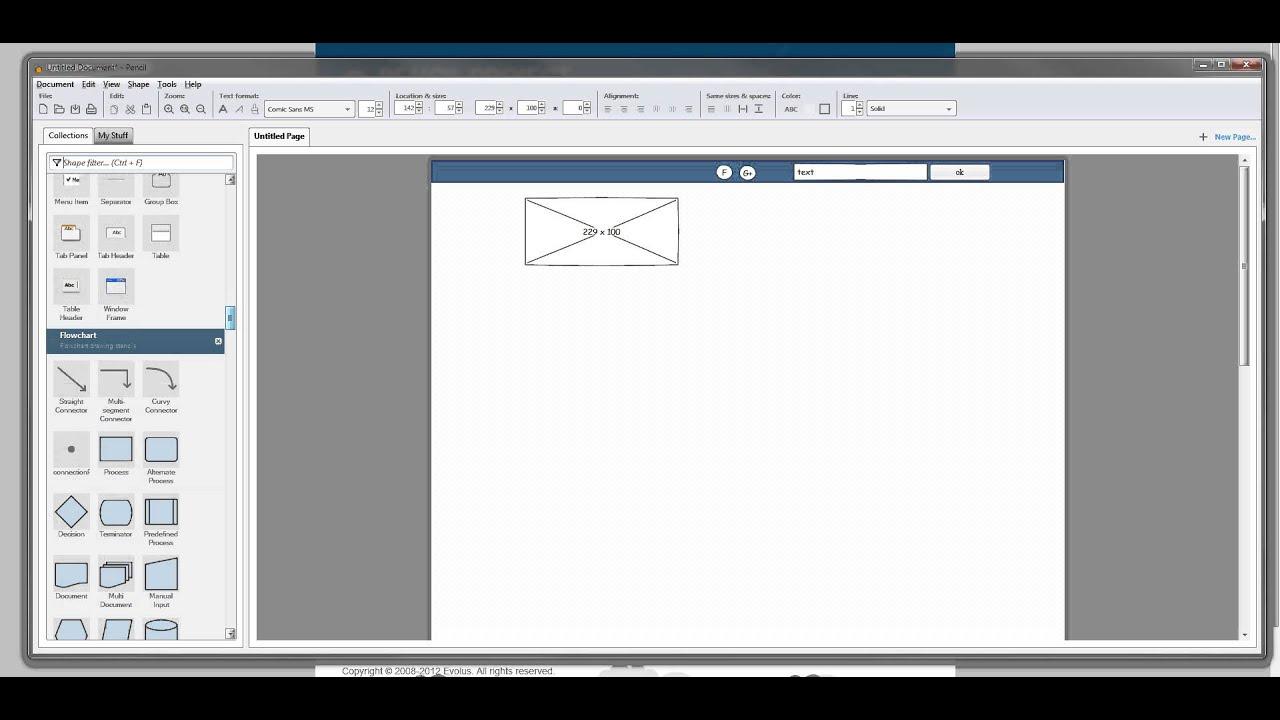 Concevoir Une Maquette Web Avec Le Logiciel Pencil