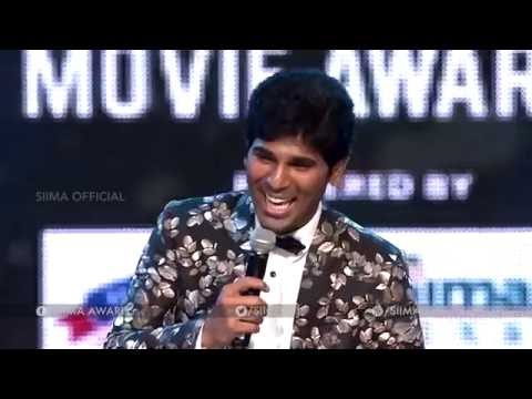 Allu Sirish Hilarious Punch To Ali - SIIMA 2016 Telugu