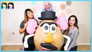 Giant Surprise Egg! Worlds Biggest Mr Potato Head Hunt + Hide and Seek