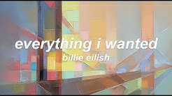 Billie Eilish - everything i wanted (Lyric Video)