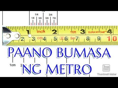 Download Paano Basahin ang Metro sa Sukat ng Plano, How to Read Steel Tape Measure