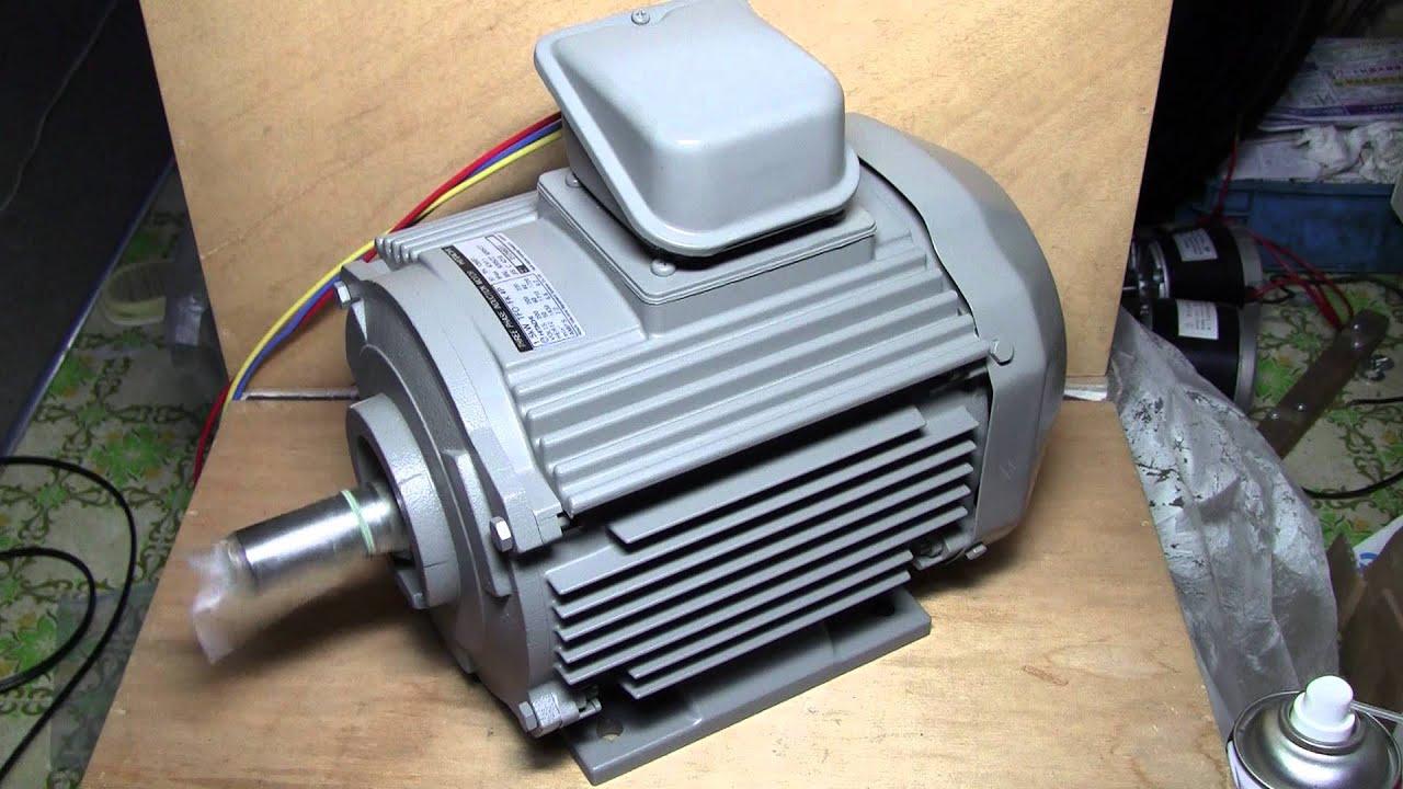 hideponworks 汎用VVVFインバーターでかご形三相誘導電動機を駆動してみる. その1