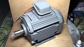 汎用VVVFインバーターでかご形三相誘導電動機を駆動してみる. その1