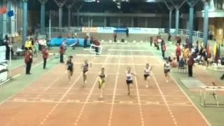 60 m Hurdles Final Girls Youth Dobrich 2016