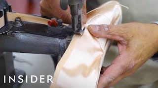 How Ballet Pointe Shoes Are Made