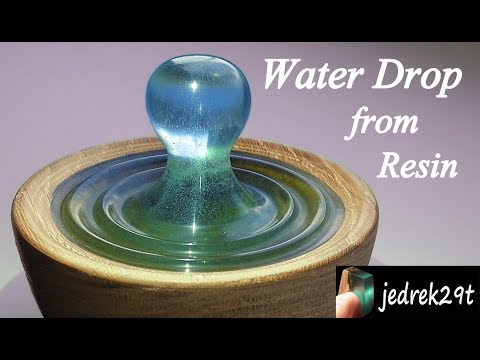 DIY. Water Drop from Resin/Kropla Wody z Żywicy