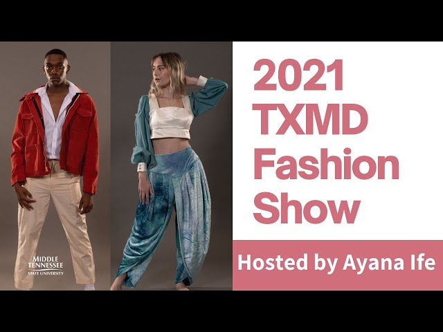 2021 TXMD Fashion Show hosted by Ayana Ife