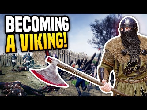BECOMING A VIKING - Mordhau Gameplay | Raider Class Gameplay!