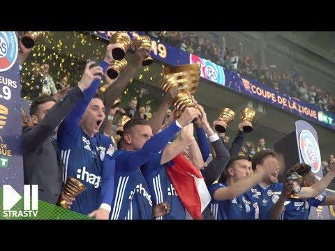 Le RC Strasbourg remporte la coupe de la Ligue