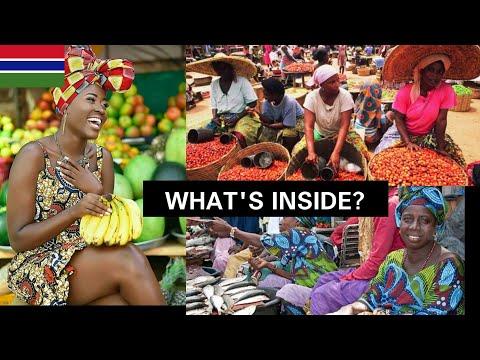 Inside The Biggest Market In Banjul 🇬🇲 Royal Albert Market #Gambia Africa  Ep.9