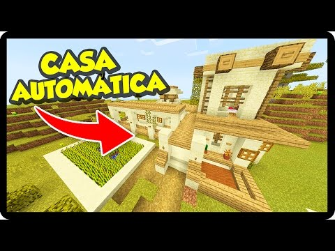 Minecraft PE: A CASA AUTOMÁTICA MAIS INTELIGENTE DO MUNDO !!!