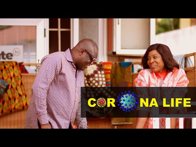 Corona Life - Episode 21 - Working from Home | TV/WEB SERIES GHANA