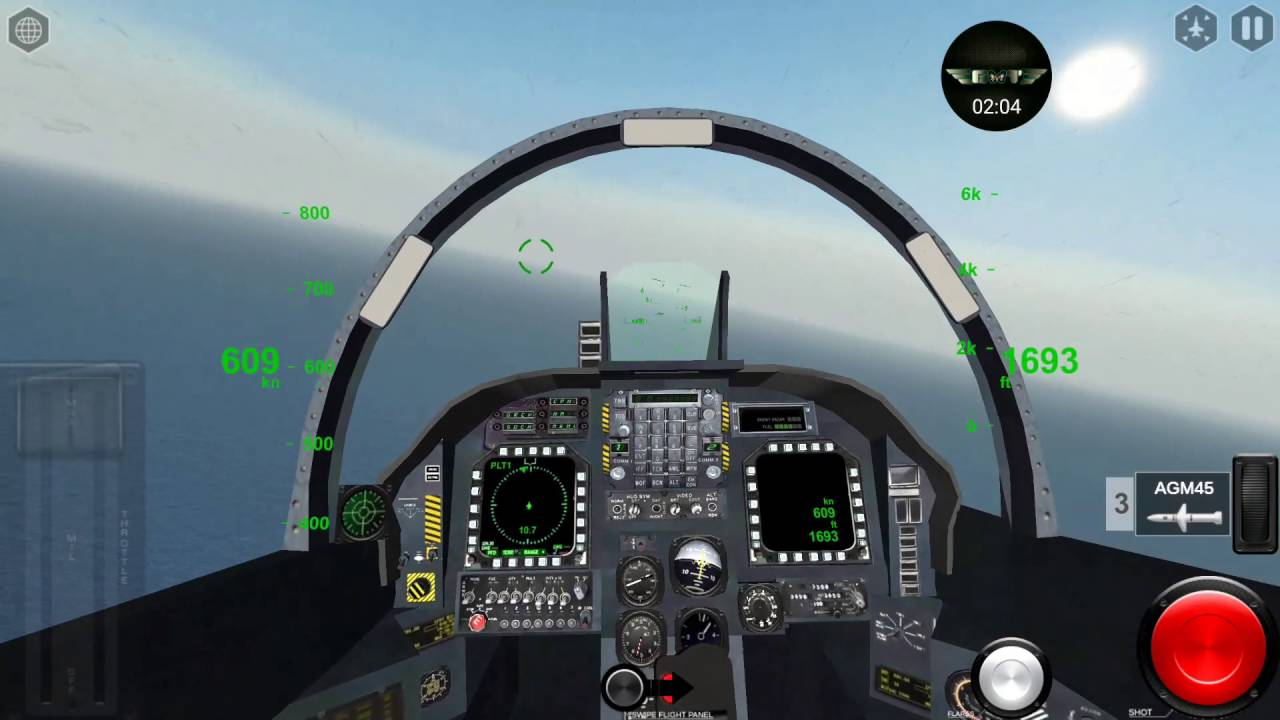 Air Fighters Pro by Rortos - AV-8B Harrier II Mission and Carrier Landing
