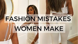 Download 10 Fashion Mistakes Women Make Mp3 and Videos