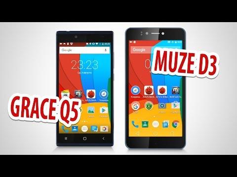 Prestigio MultiPhone 5506 Grace Q5 Blue – купить со