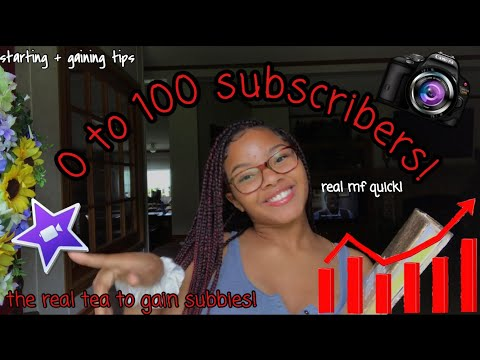 SMALL YOUTUBERS WATCH THIS!! HOW TO START + GAIN FROM 0 SUBSCRIBERS! 100 SUBSCRIBERS IN A WEEK!