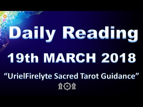 Daily Reading 19th March 2018~Slow down, Be Patient,Change Your Attitude & Clear Your Mind!