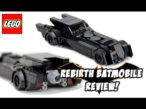 Custom Lego Rebirth Batmobile Review! - YouTube