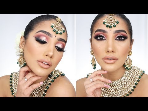 Indian Wedding FULL GLAM - Bridal/Reception Makeup | AnchalMUA