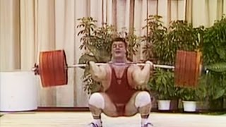 1989 World Weightlifting Championships, +110 kg class.