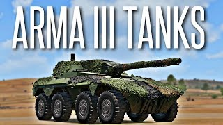 Скачать ARMA 3 TANKS DLC Overview Gameplay Of The New Tanks