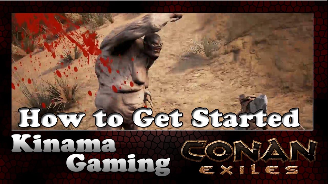 how to make conan exile work