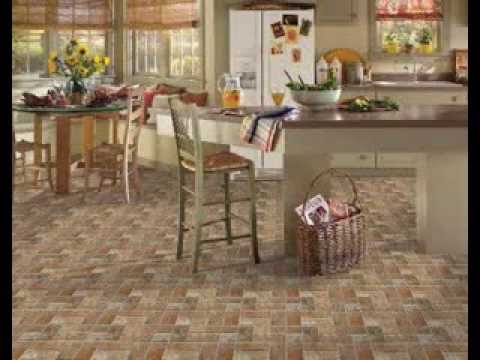 Kitchen floor tile design ideas - YouTube