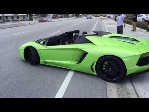 Lamborghini Palm Beach Exotic Car Show - August 2016