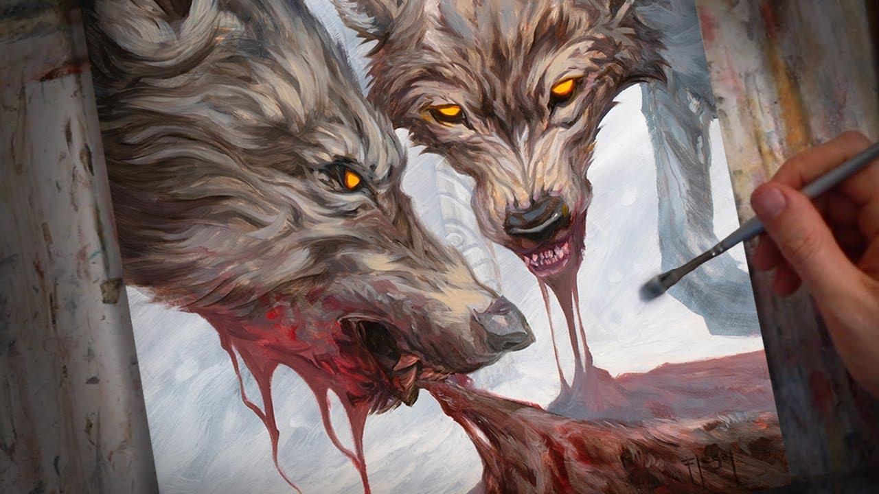 Geri And Freki Norse Mythology