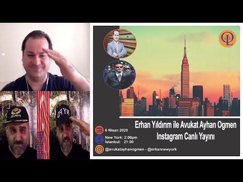 06.04.2020 - Avukat Ayhan Ogmen & Erhan Yıldırım Canlı Yayını