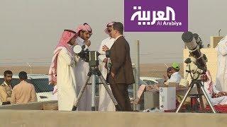 هكذا تم رصد هلال رمضان في السعودية Youtube
