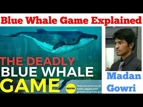 Blue Whale Game Explained   Tamil   Children Suicide   Madan Gowri