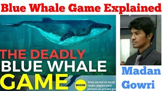 Blue Whale Game Explained   Tamil   Madan Gowri