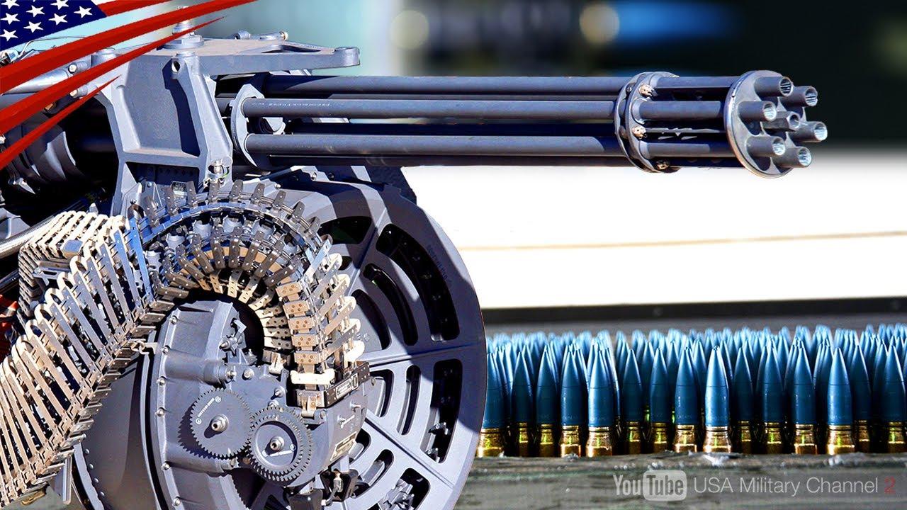 【1秒で100発!脅威の発射速度・M61バルカン】F-22やF-15戦闘機に搭載されているガトリング砲とは?