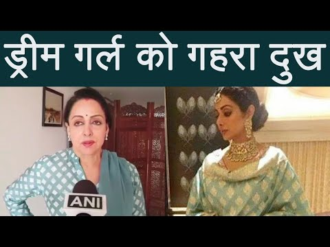 Sridevi: Hema Malini Recalls Her Last Meeting With Sridevi | FilmiBeat