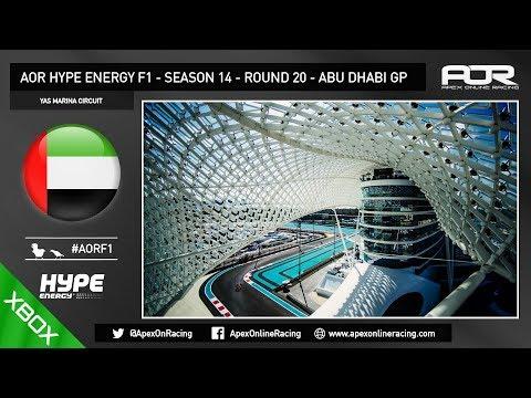 F1 2017 - AOR XB1 F1 - Season 14 - Round 20 - Abu Dhabi GP