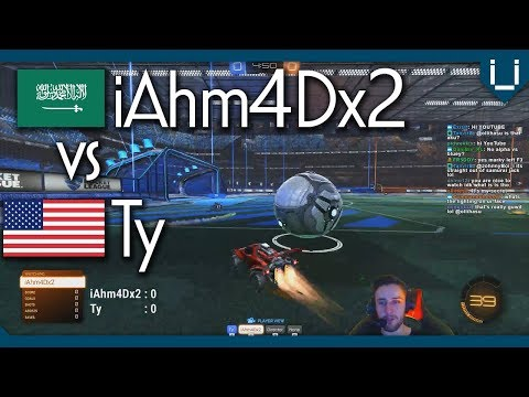iAhm4Dx2 vs Ty | Rocket League 1v1