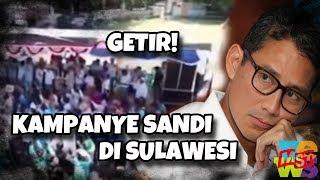 Senyum Getir Sandi Kampanye Di Sulawesi