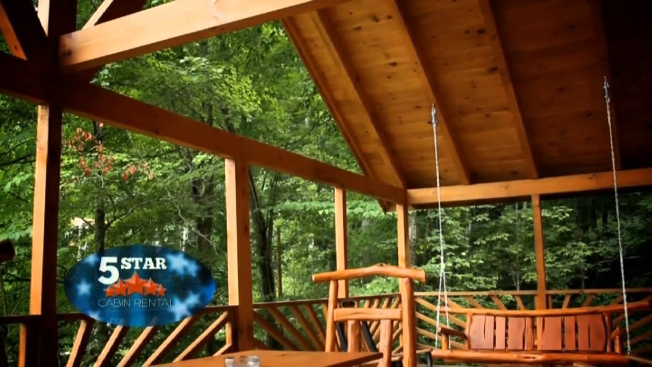 house log live retreat tiny artist youtube in stream water watch cabin acres cabins ky