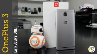 OnePlus 3 la recensione