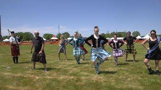 WGN Radio Recess: Visiting the Scottish Festival & Highland Games