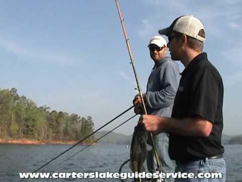 Carter Lake Guide Service (Huge Spots) Part 1